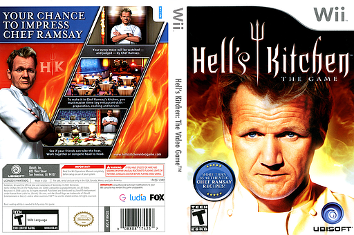 RH2E41 Hells Kitchen The Video Game