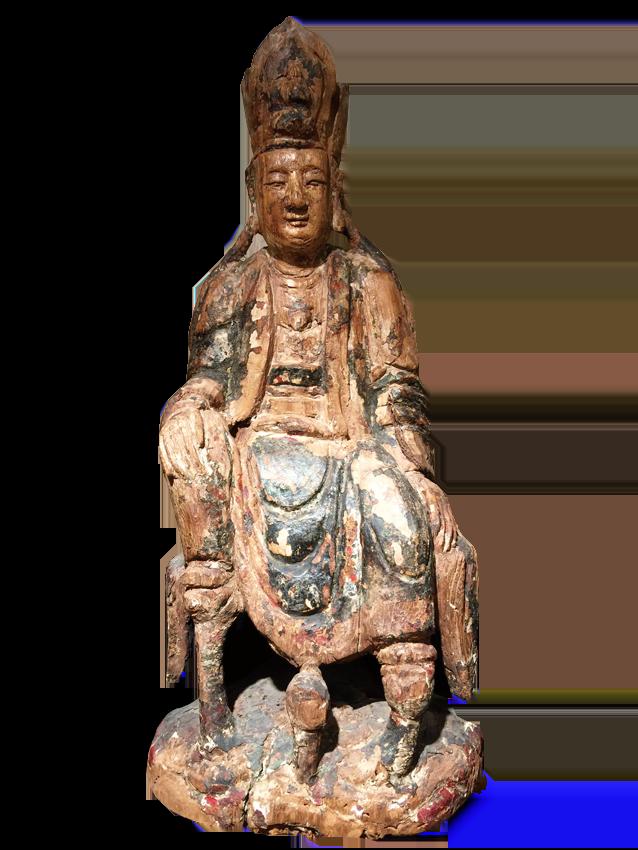 宋代木雕觀音神像
