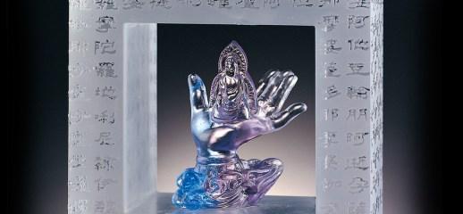 頂上化佛手Mudra of Buddha in the Halo