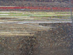 "Sam Erenberg, ""Liquid Light: Flowing Into The Future"", mosaic detail"