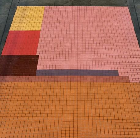 "Adobe LA, ""Blissful Interiors"" (floor detail)"