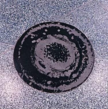 "Michael Davis, ""Ecliptic/ Illume"" (floor detail)"