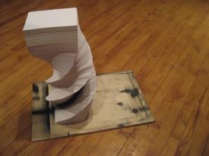 """Jason Jozwiak, """"Paper Construction 5,"""" 2008"""