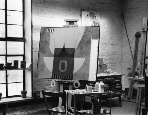 Alan Lunak's studio, c. 1960s