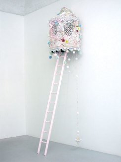 Kimberley Hart, Hunting Stand with Unicorn Bait, 2007. Courtesy of Mixed Greens, NY