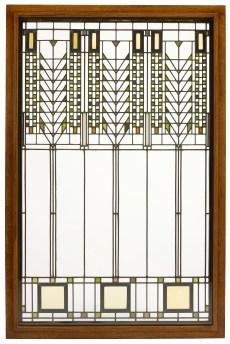 "Frank Lloyd Wright, Darwin D. Martin House, ""Tree of Life"" Window, 1904"