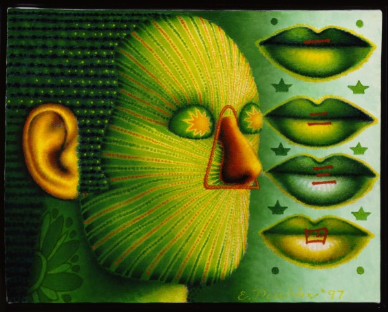 """Four Se,"" oil on linen, 1997.  © Ed Paschke"