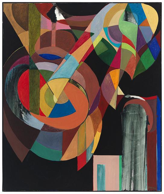 """""""Pinwheel, oil on canvas, 2009-10"""