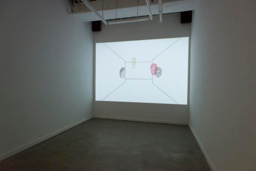 "Lilli Carré. ""If it feels familiar, you are going in circles,"" 2014, single channel HD video installation"