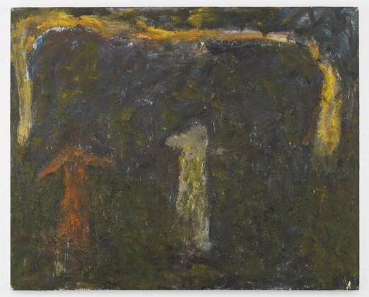 """Milton Resnick. """"U & Me,"""" 1990, oil on canvas,  84 ½"""" x 104 ½"""""""