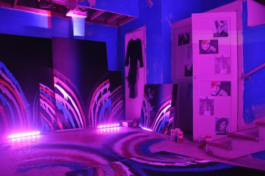 """Lise Haller Baggesen. """"So Deep in Your Room You Never Leave your Room, Or: The life and Times Of Alice B. Ross,"""" 2012, installation"""