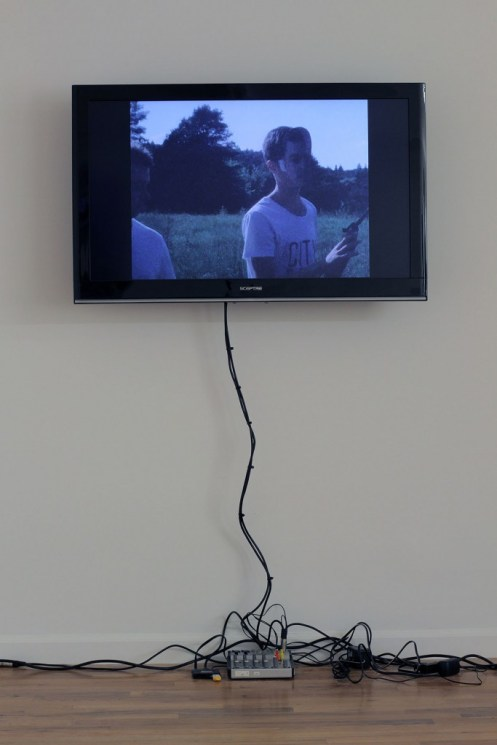 "Nick Bastis. ""3 become 1 and so on and so forth,"" 2014 16 mm film transferred to digital, 2:38 seconds (loop)"