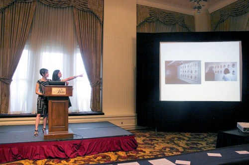 "Niki Johnson and Claudia Arzeno deliver ""Unpacking Curation - Connecting Community and Narrative through Art"""
