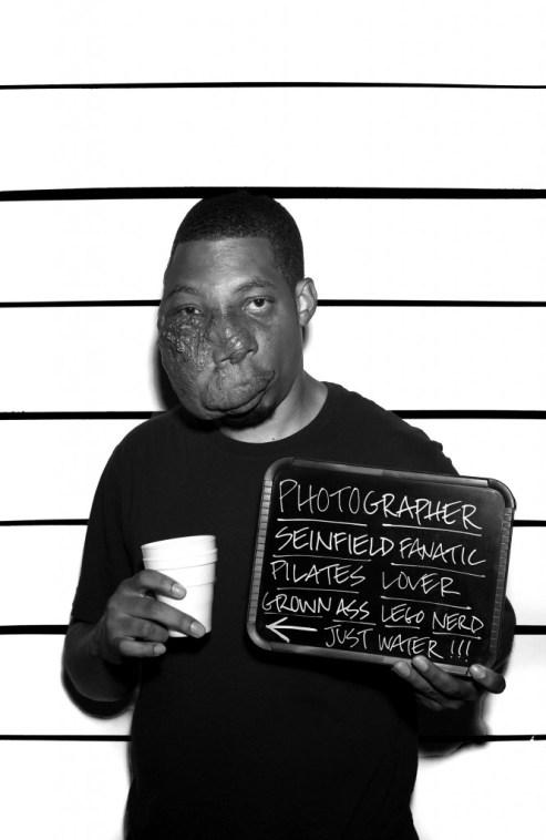 "Imani Amos. ""Untitled,"" 2014 photographic print on matte heavyweight cardstock, 30"" x 19.5"""