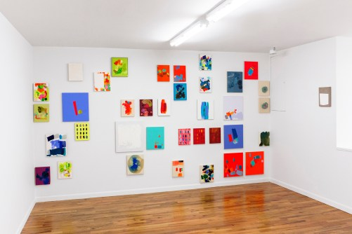 "Installation view of ""Brandon Anschultz"" at Regards Gallery. / Photo by  Eileen Mueller."