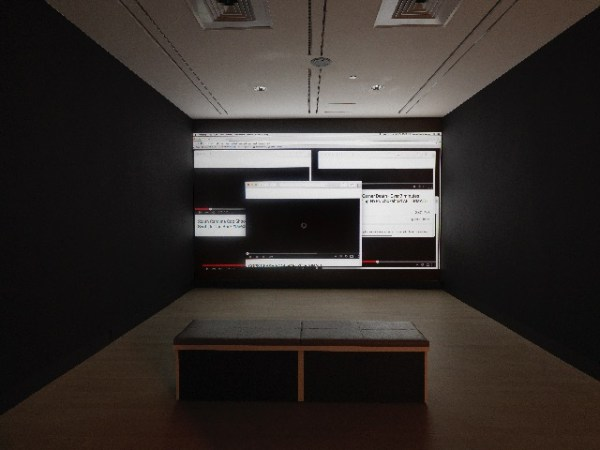 """Three the Hard Way,"" installation image, Artist's work shown: James T. Green /. Photo by Tom Van Eynde."