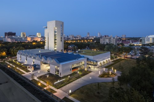 The Reva and David Logan Center for the Arts. Photo: Tom Rossiter.