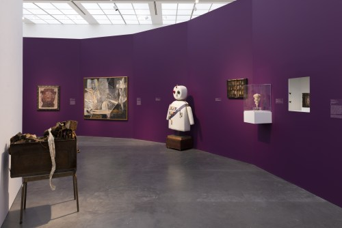 "Installation view, ""Surrealism: The Conjured Life,"" MCA Chicago. /Photo: Nathan Keay."