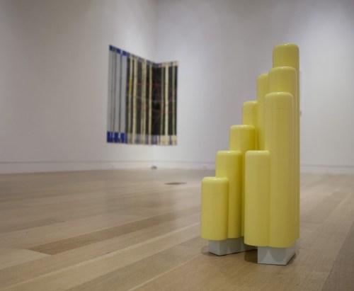 """Dianna Frid & Richard Rezac: Split Complementary,"" installation view at the DePaul Art Museum, 2016."