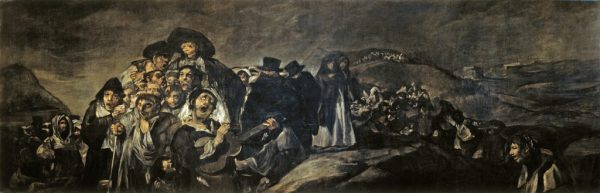 "Francisco Goya, ""A Pilgrimage to San Isidro,"" 1819-23. Museo del Prado, Madrid"