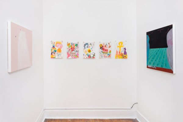 """Installation view of """"God Gives Us Food"""" at cornerstone, Summer 2016 /Photo: RCH 