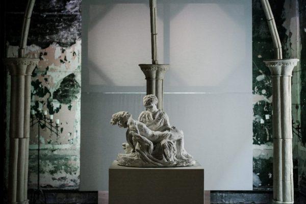"""Chapel,"" Rodrigo Lara-Zendejas installation at 6018North /Photo: Anna Zajac"