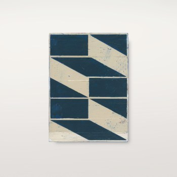 "Alain Biltereyst, ""Untitled,' 2016. Acrylic on wood panel, 9.25 × 6.5 inches"