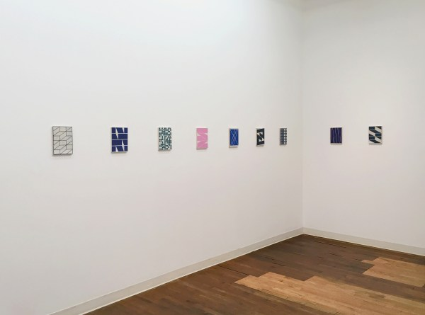 """Alain Biltereyst, Installation view of """"Not Just Because""""at Devening Projects + Editions, Fall 2016"""