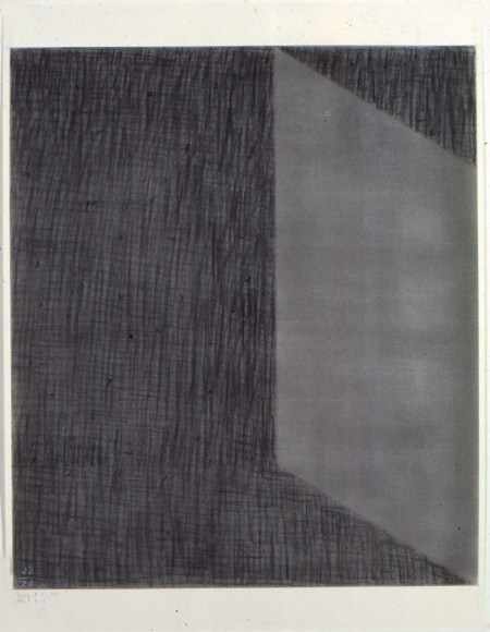 "Jack Tworkov, ""DWG #5-70 (CH #5),"" 1970. Charcoal On Paper /Alexander Gray Associates (# 327)"