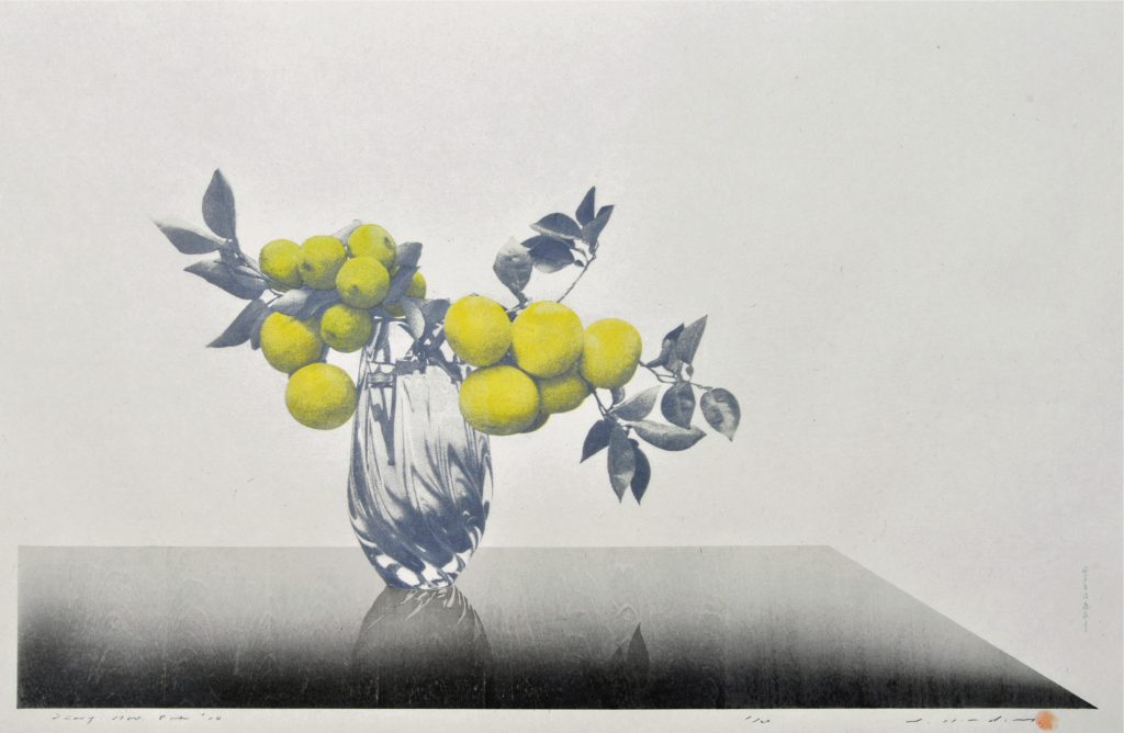 "Tetsuya Noda, ""476 Diary; Nov. 8th, '10,"" 2010. Woodcut and silkscreen, 19 x 33 inches"