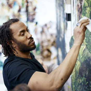 "<span class=""entry-title-primary"">Spreading Wings And Taking Flight</span> <span class=""entry-subtitle"">Rashid Johnson Soars at the Milwaukee Art Museum</span>"