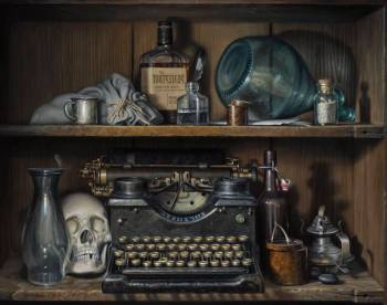 Brilliant Still-Lifes With Few Hints Of Today's World: A Review of Gregory Block at Zolla/Lieberman Gallery