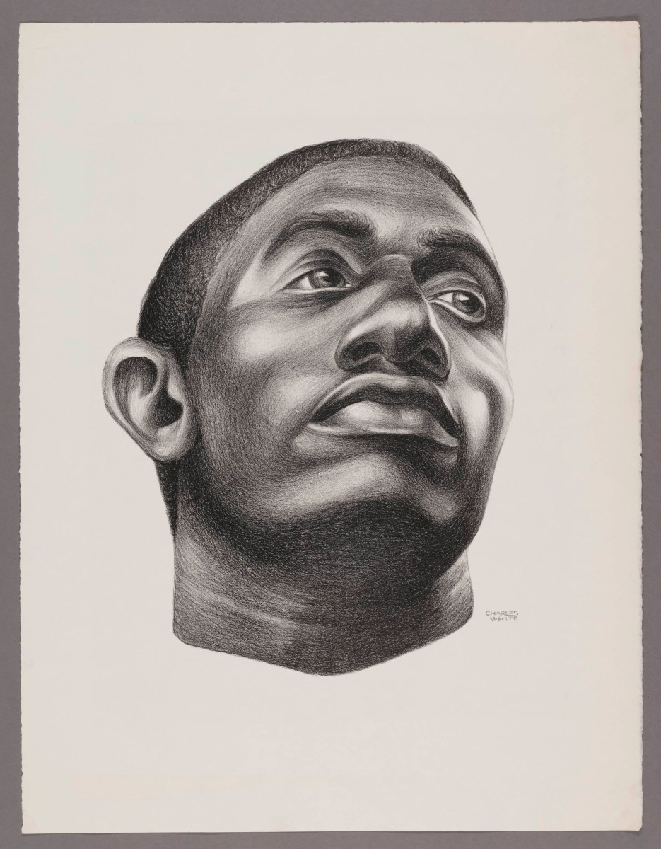 Poise And Dignity In Every View, A Review of Charles White at the Art Institute of Chicago
