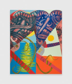 Painting the Erotic Plunders of Abstraction: A Review of Peter Fagundo at Shane Campbell Gallery