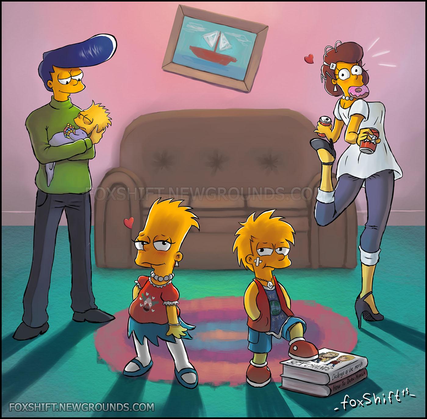The Simpsons Cotm1 Sex Change