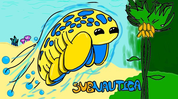 Subnautica Hoverfish By Awesomexboy3000 On Newgrounds