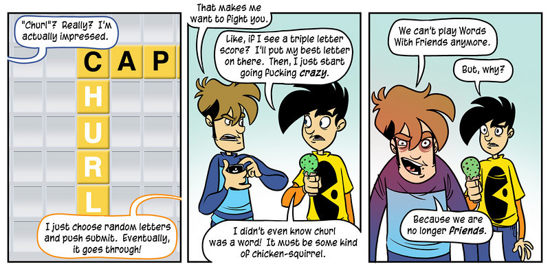 Words with Friends Comic