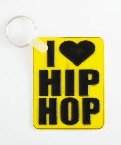 Llavero i love hip hop coleccionable