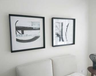Gold Coast Art installation - picture hanging Art247.biz