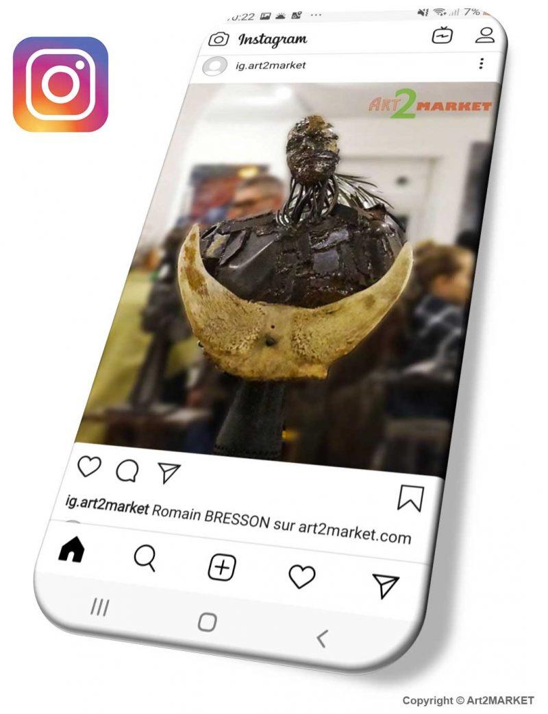 Exemple de contenu du réseau social Pinterest