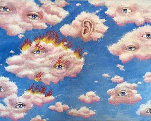 Flaming eyes ⓒ Ellepleure