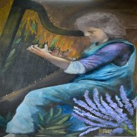 Harpiste ⓒ Mako Moya