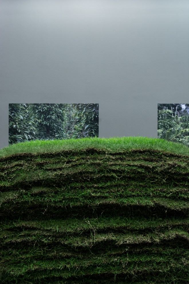 'Everything Can Be Measured,' installation by Ang Song Nian, Photo by Napat Charitbutra
