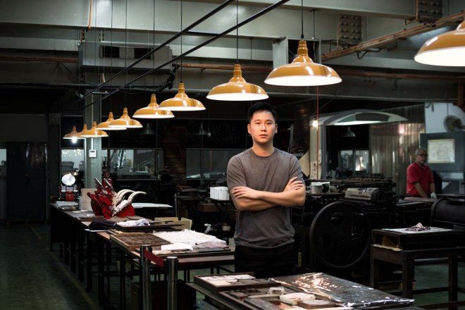 Ee Son Wei, Founder of APW, (A Place Where), Bangsar, Malaysia. Photo by Napat Charitbutra