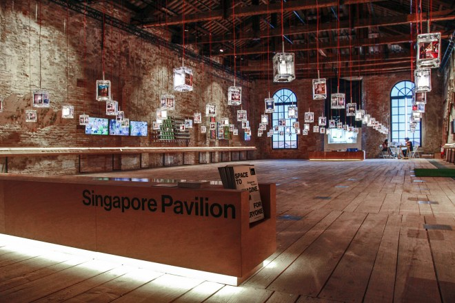Venice Biennale exhibition design, Image courtesy of Do Not Design