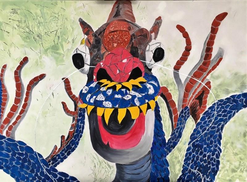 TAN KI artiste peintre valerie guillemont souvenir Vietnam espace ART52 royan
