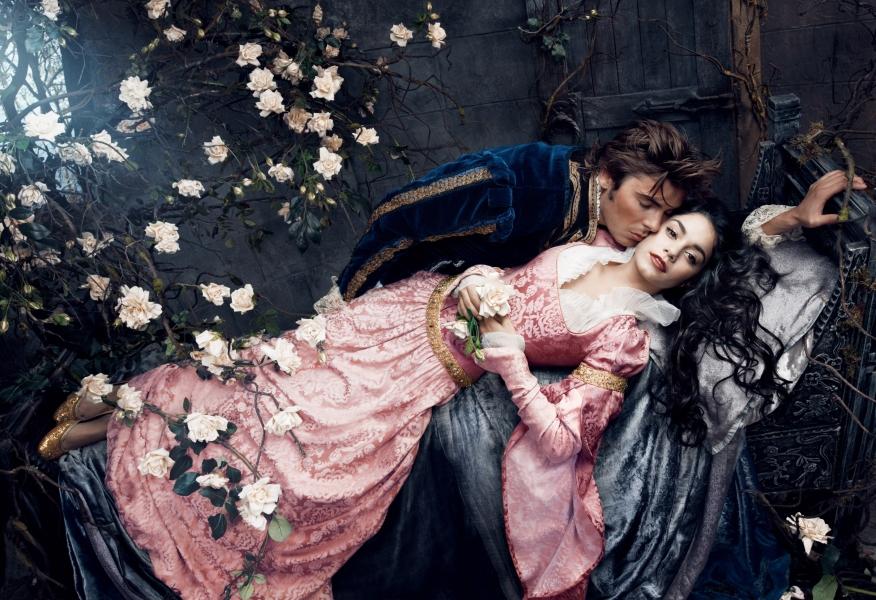 Zac Efron and Vanessa Hudgens as Sleeping Beauty