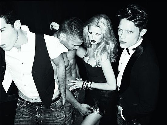 Lara Stone for DSquared2 by Mert & Marcus