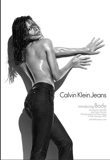 Eva Mendez for Calvin Klein Jeans by Steven Klein
