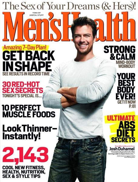 Josh Duhamel for Men's Health